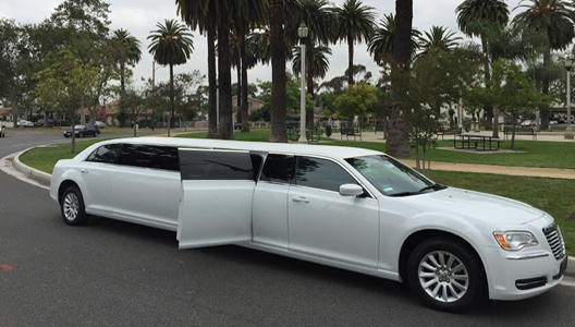 12-Pas-White-Chrysler The Most Popular Limousine Size To Order