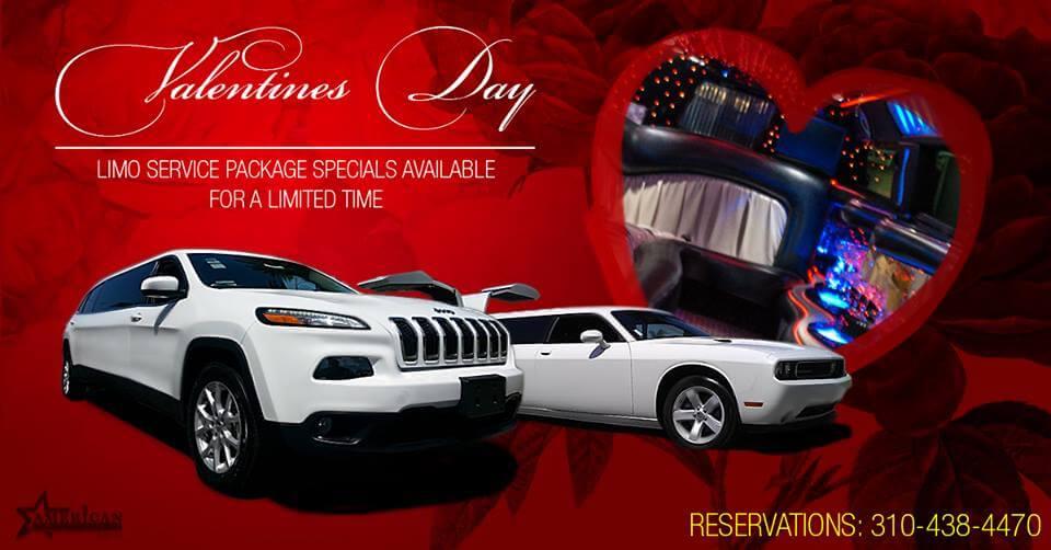 valentine's day limousine